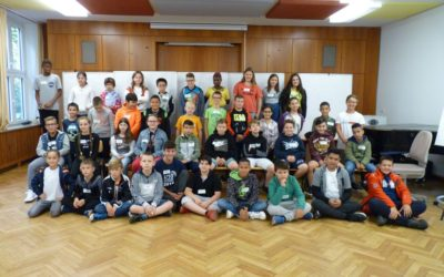 Neue Schüler an der Philipp Matthäus Hahn Gemeinschaftsschule