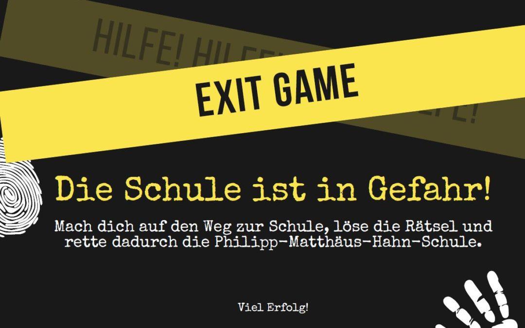 EXIT GAME: Seid dabei und rettet die Schule!